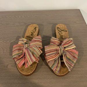 NWT Sam Edelman sandals with bow